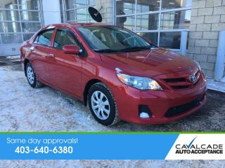 Used 2012 Toyota Corolla LE for sale in Calgary, AB