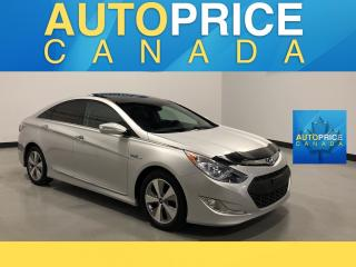 Used 2012 Hyundai Sonata Hybrid Premium NAVIGATION|PANOROOF|LEATHER for sale in Mississauga, ON