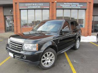 Used 2009 Land Rover Range Rover Sport 2009 /$13495+HST+LIC FEE HSE for sale in North York, ON