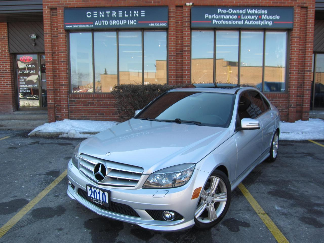 Used 2010 Mercedes-Benz C 300 4MATIC /$11995+HST+LIC FEE