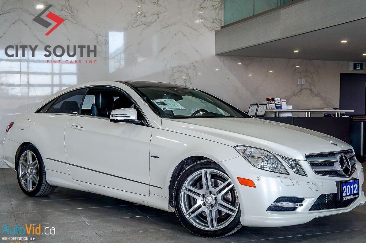 2012 Mercedes-Benz E-Class E 350 COUPE 4MATIC NAVI REAR CAMERA--->>>FINANCING
