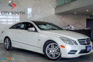 Used 2012 Mercedes-Benz E-Class E 350 COUPE 4MATIC NAVI REAR CAMERA--->>>FINANCING for sale in Toronto, ON