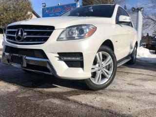 Used 2012 Mercedes-Benz ML-Class 4MATIC 4dr 3.0L BlueTEC accident free Canadian for sale in Brampton, ON