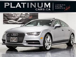 Used 2016 Audi A7 3.0 TDI Quattro TECHNIK, S-LINE, NAVI, CAM for sale in Toronto, ON