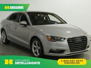 Used 2015 Audi A3 2.0T Komfort quattro for sale in St-Léonard, QC