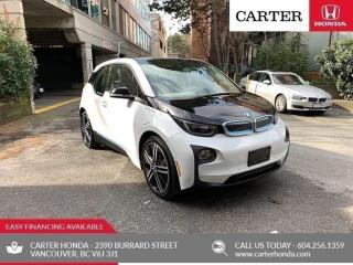 Used 2016 BMW i3 w/Range Extender for sale in Vancouver, BC