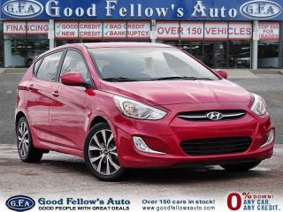 Used 2017 Hyundai Accent GLS MODEL, SUNROOF, HEATED SEATS for sale in Toronto, ON