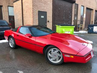 Used 1986 Chevrolet Corvette for sale in Concord, ON
