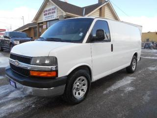 Used 2011 Chevrolet Express 1500 CARGO 4.3L V6 Chrome Package Divider Certified for sale in Etobicoke, ON