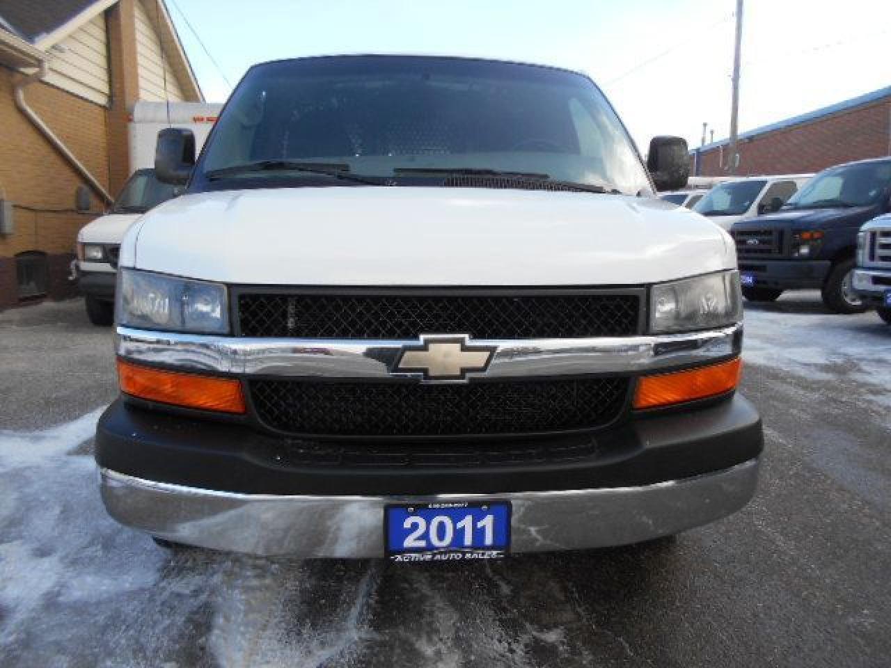 2011 Chevrolet Express 1500 CARGO 4.3L V6 Chrome Package Divider Certified