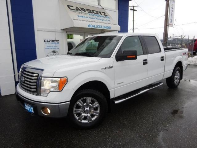 2012 Ford F-150 XLT XTR Crew 6.5 Box, Max Trailer Tow, Eco-Boost