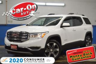 Used 2017 GMC Acadia SLT-2 LEATHER NAV PANO ROOF REAR CAM LOADED for sale in Ottawa, ON