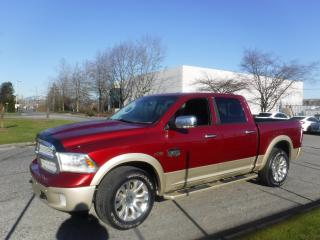 Used 2014 RAM 1500 Laramie Longhorn Edition Crew Cab SWB 4WD for sale in Burnaby, BC
