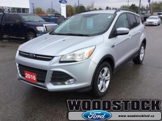 Used 2016 Ford Escape SE  - Bluetooth -  SiriusXM -  Heated Seats for sale in Woodstock, ON