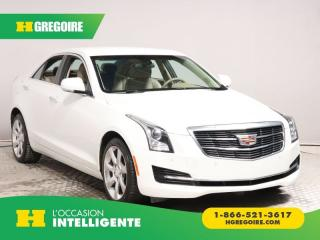 Used 2015 Cadillac ATS LUXURY 2.0T AWD CUIR for sale in St-Léonard, QC