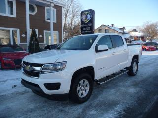Used 2016 Chevrolet Colorado WT for sale in Ste-Marie, QC