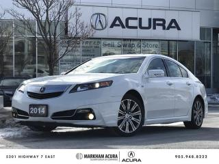 Used 2014 Acura TL A-Spec Aero Kit, Moonroof, Push Start for sale in Markham, ON