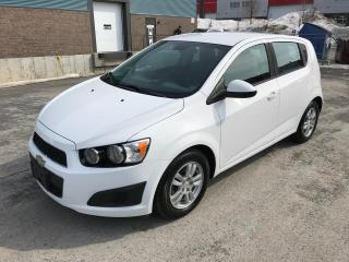 Used 2012 Chevrolet Sonic Hayon 5 portes LS for sale in St-Eustache, QC
