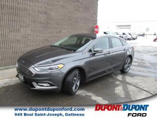 Used 2018 Ford Fusion Titanium TI for sale in Gatineau, QC