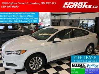 Used 2015 Ford Fusion S+Camera+Bluetooth+Cruise+New Brakes+A/C+XM Radio for sale in London, ON