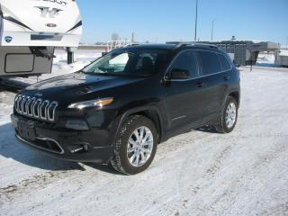 Used 2015 Jeep Cherokee Limited for sale in Brandon, MB