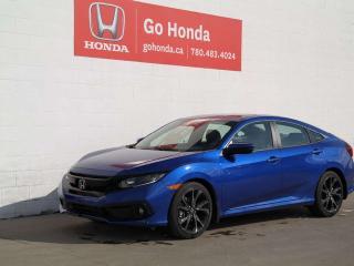New 2019 Honda Civic Sedan Sport for sale in Edmonton, AB