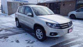 Used 2012 Volkswagen Tiguan Trendline for sale in Brampton, ON