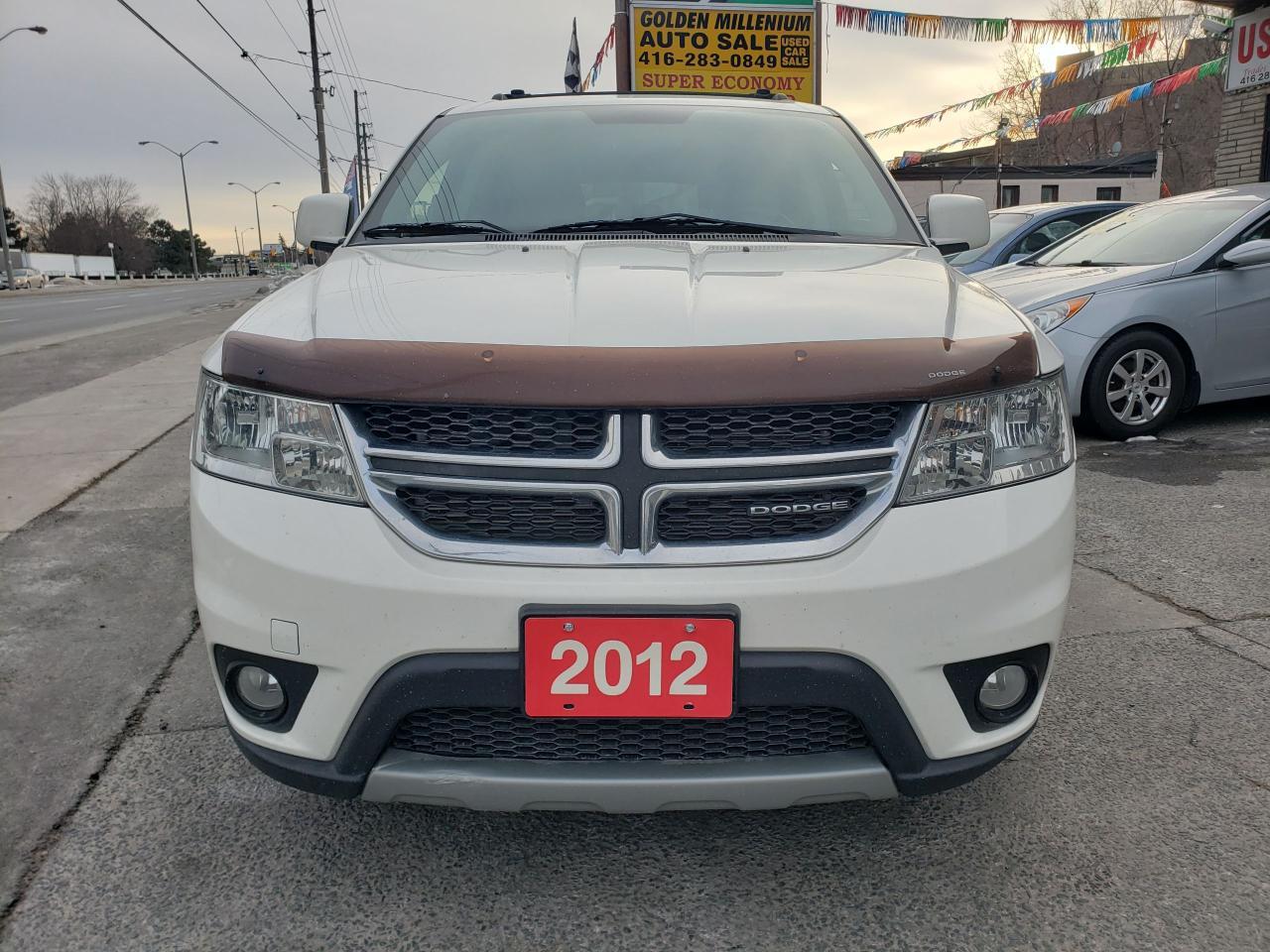 2012 Dodge Journey SXT / 7 Seats -Only 157K-Mint Condition-Bluetooth