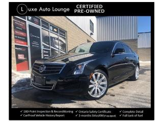 Used 2014 Cadillac ATS Luxury AWD! AUTO, LEATHER, SUNROOF, NAVIGATION! for sale in Orleans, ON