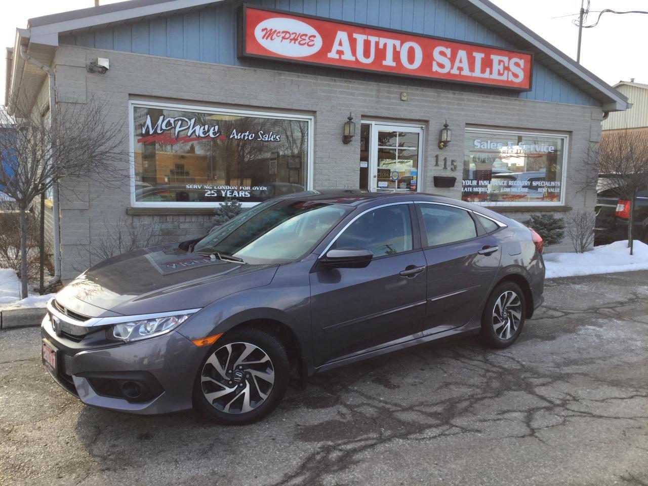 Honda London Ontario >> Used 2017 Honda Civic Ex For Sale In London Ontario