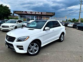 Used 2015 Mercedes-Benz ML-Class ML-350 BLUETEC|NAV|DUALROOF|PWRTRUNK|CERTIFIED! for sale in Mississauga, ON