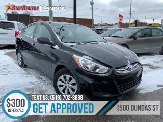 Used 2017 Hyundai Accent GL | 1OWNER | HEATED SEATS for sale in London, ON