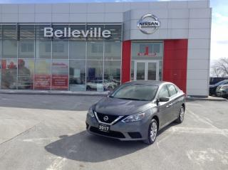Used 2017 Nissan Sentra SV 1 OWNER LOCAL TRADE for sale in Belleville, ON