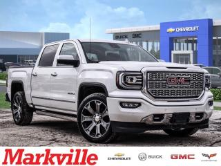Used 2016 GMC Sierra 1500 DENALI-GM CERTIFIED PRE-OWNED-1 ONWER-CLEAN! for sale in Markham, ON