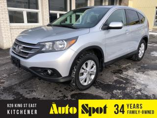Used 2014 Honda CR-V EX/LOW, LOW KMS!/PRICED-QUICK SALE! for sale in Kitchener, ON