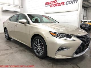 Used 2017 Lexus ES 350 Luxury Radar Cruise LAne Keep Navigation Sunroof for sale in St. George Brant, ON