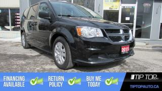 Used 2015 Dodge Grand Caravan SE ** Clean CarFax, Rear Air & Heat, Well Equipped for sale in Bowmanville, ON