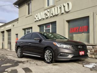 Used 2015 Hyundai Sonata FULLY LOADED 2.4L Auto for sale in Hamilton, ON