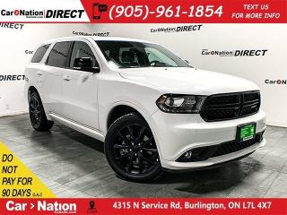 Used 2018 Dodge Durango GT Blacktop| AWD| NAVI| DUAL DVD| SUNROOF| for sale in Burlington, ON