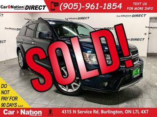Used 2015 Dodge Journey R/T  AWD  7-PASSENGER  LEATHER  for sale in Burlington, ON