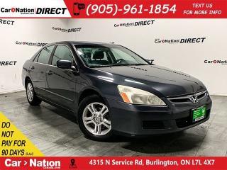 Used 2006 Honda Accord SE| AS-TRADED| SUNROOF| OPEN SUNDAYS| for sale in Burlington, ON