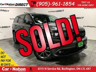 Used 2018 Dodge Durango GT| AWD| NAVI| DUAL DVD| SUNROOF| for sale in Burlington, ON