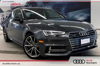 Used 2017 Audi A4 2.0T Progressiv Quattro + S-Line   Cam   CarPlay for sale in Whitby, ON