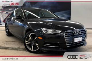 Used 2017 Audi A4 2.0T Technik Quattro + 360 Cam | Nav | CarPlay for sale in Whitby, ON