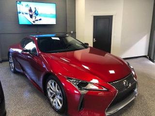 Used 2018 Lexus LC500 Like New, Mint Condition for sale in Calgary, AB