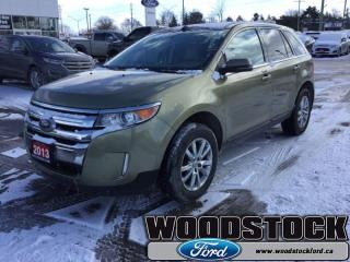 Used 2013 Ford Edge LIMITED  - Leather Seats -  Bluetooth for sale in Woodstock, ON