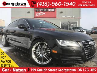 Used 2013 Audi A7 3.0T | NAVI | SUNROOF | LEATHER | AWD | LOW KM | for sale in Georgetown, ON