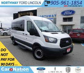 Used 2018 Ford Transit XL | 15 PASSENGER | BACKUP CAM | TOW PKG | 158KM for sale in Brantford, ON