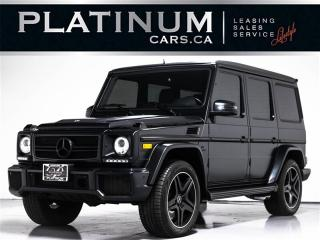 Used 2013 Mercedes-Benz G-Class G63 AMG, NAVI, DESIGNO, HEATED COOLED SEATS for sale in Toronto, ON