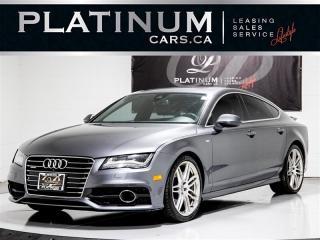 Used 2014 Audi A7 3.0 TDI Quattro TECHNIK, S-LINE, NAVI, 360 CAM for sale in Toronto, ON